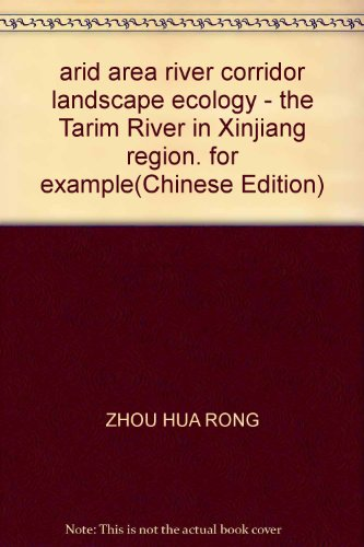 arid area river corridor landscape ecology - the Tarim River in Xinjiang region. for example(...