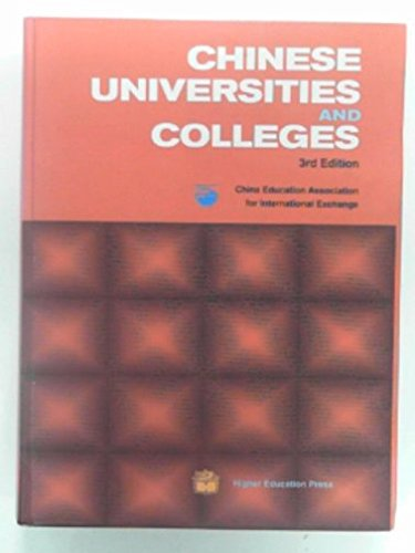 9787040090468: Chinese Universities and Colleges