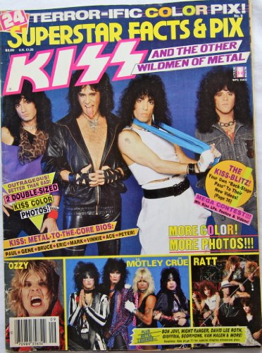 9787098935834: KISS And The Other Wildmen Of Metal /Superstar Facts & Pix. No.9/Magazine