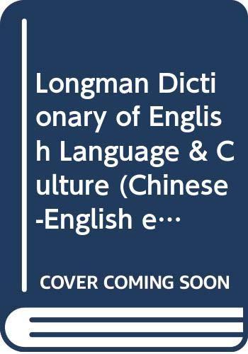 Longman Dictionary of English Language & Culture: Longman