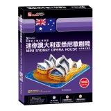 Interestingly. three-dimensional jigsaw puzzle: a mini Sydney Opera House(Chinese Edition): LE LI ...