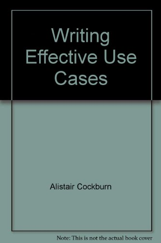 9787111110903: Writing Effective Use Cases
