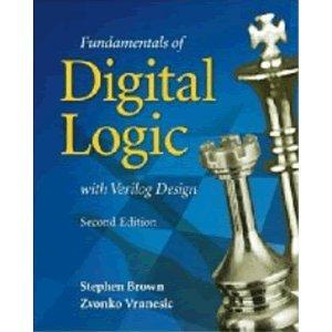 Brown/vranesic digital logic with verilog.