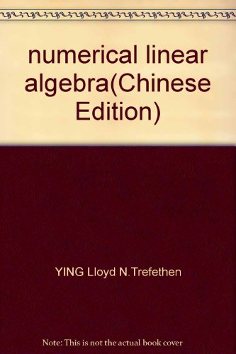 9787115151681: numerical linear algebra
