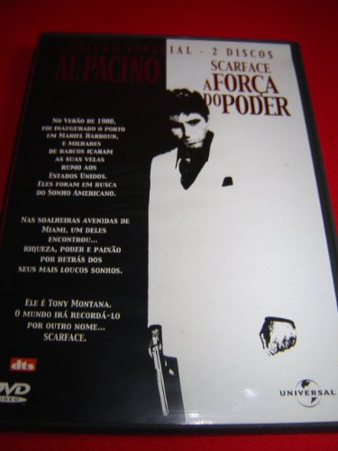 9787115197399: SCARFACE (1983) (2 discs edition) / SCARFACE - A FORCA DO PODER