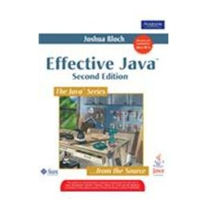 9787115211316: Effective Java (2nd Edition) (English version)(Chinese Edition)