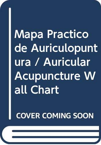 Auricular Acupuncture Point Wall Chart(Spanish-Chinese): Jin Shi-ying
