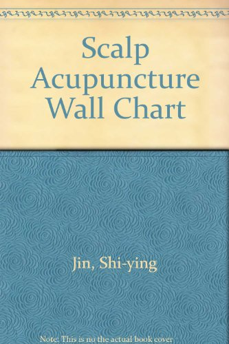 9787117080200: Scalp Acupuncture Wall Chart (French Edition)