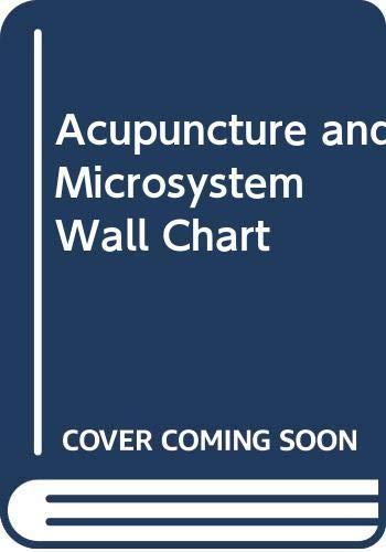 Mapas Acupuntura & Microsistema (Spanish-Chinese Wall Charts): Jin Shiying; Jin