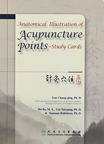 9787117112079: Anatomical Illustration of Acupuncture Points - Study Cards