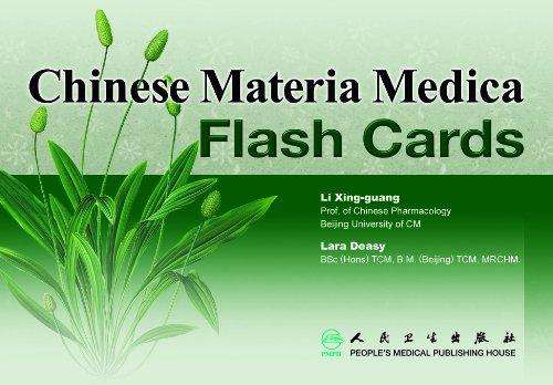 Chinese Materia Medica Flash Cards (to Identify: Lara Deasy