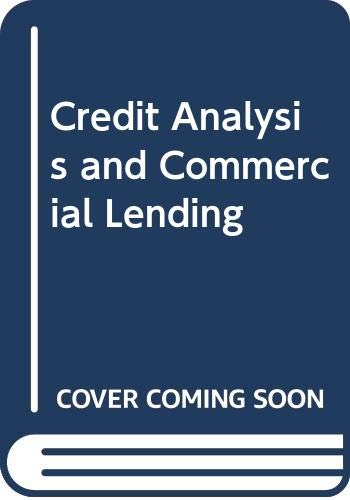 9787119048628: Credit Analysis and Commercial Lending