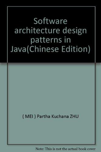 9787121018732: Software architecture design patterns in Java