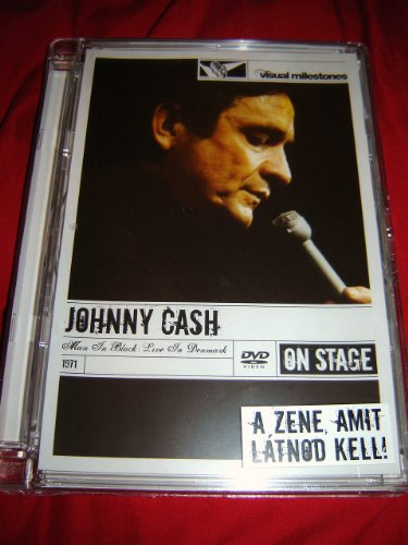 9787121062254: Johnny Cash - Man in Black Live in Denmark