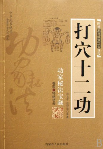 9787204009992: Twelve Moves of Acupoint Attack - Arcane Treasures - Volume Four - Specially Stunt Kung Fu (Gong jia mi fa bao cang) (Chinese Edition)