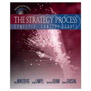 9787300052274: The Strategy Process: Concepts, Context, Cases (4th Edition)