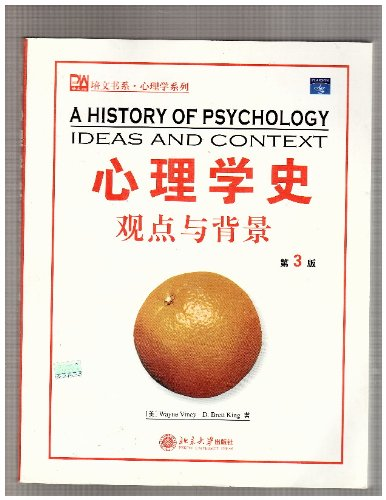 9787301073674: A History of Psychology : Ideas and Context / a History of Psychology : Ideas and Context = Xin Li Xue Shi : Guan Dian Yu Bei Jing