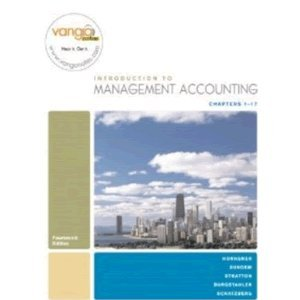 9787301164075: Introduction to Management Accounting-Chapters 1-17