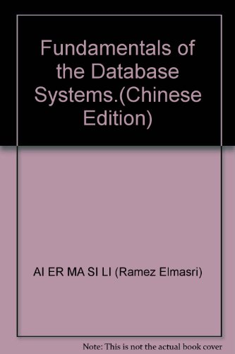 World-renowned computer Textbooks: Database Systems (6th ed.)(Chinese Edition): MEI AI ER MA SI LI ...