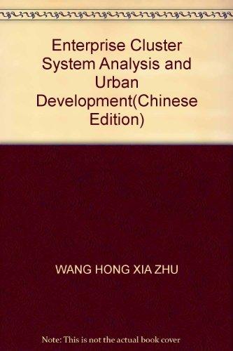 Enterprise Cluster System Analysis and Urban Development(Chinese Edition): WANG HONG XIA ZHU