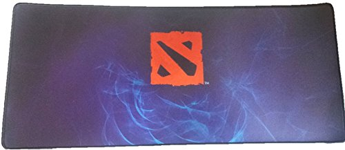 9787333530091: Large Dota 2 Gaming Mouse Pad Keyboard - 700mm*300mm*3mm Defense of the Ancients