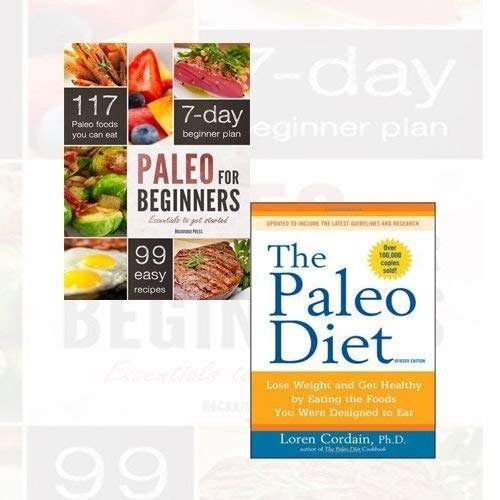 9787421180603: Paleo for Beginners and The Paleo Diet 2 Books Bundle Collection (Paleo for Beginners: Essentials to Get Started, The Paleo Diet: Lose Weight and Get Healthy by Eating the Foods You Were Designed to Eat)