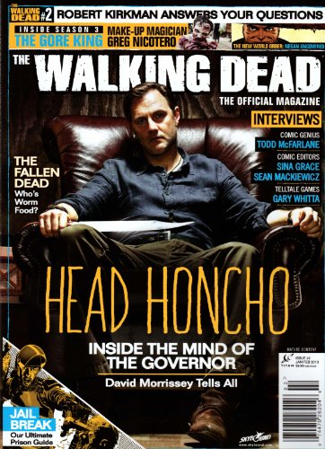 9787447026206: Walking Dead the Official Magazine Issue #2