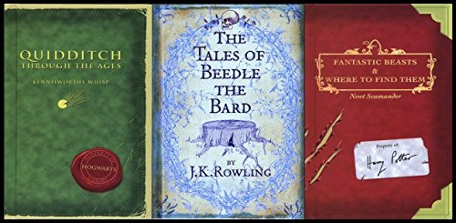 9787463028581: J. K. Rowling Collection 3 Books Bundle (The Tales of Beedle the Bard, Standard Edition[Hardcover],Fantastic Beasts and Where to Find Them,Quidditch Through the Ages) by J. K. Rowling (2016-06-07)
