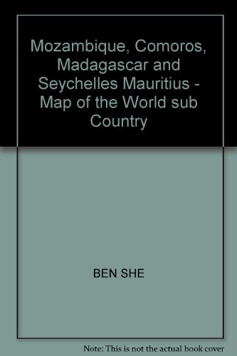 Mozambique. Comoros. Madagascar and Seychelles Mauritius - Map of the World sub Country(Chinese ...