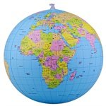 9787503183157: Bo mesh globe: 28cm inflatable globe teaching (2801)(Chinese Edition)