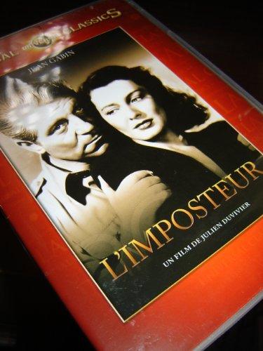 "9787503941238: Julien Duviver ""The Imposter"" / L'IMPOSTEUR / Region 2 PAL DVD / Audio: English, French / Subtitle: French / Starring: Jean Gabin, Ellen Drew, Richard Whorf, Allyn Joslyn, Peter Eyck / Director: Julien Duviver"