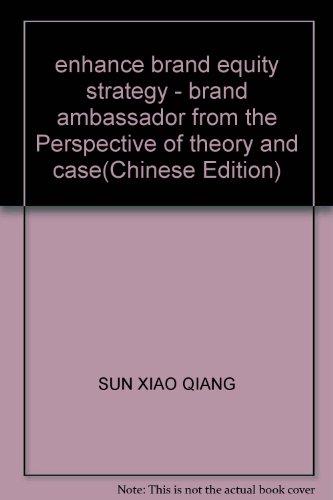 enhance brand equity strategy - brand ambassador: SUN XIAO QIANG