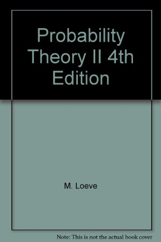 9787506200769: Probability Theory (Volume 2) (4th Edition)(Chinese Edition)