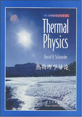 An Introduction to Thermal Physics: by Daniel V.