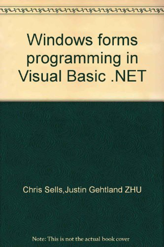 9787508331515: Windows forms programming in Visual Basic .NET(Chinese Edition)