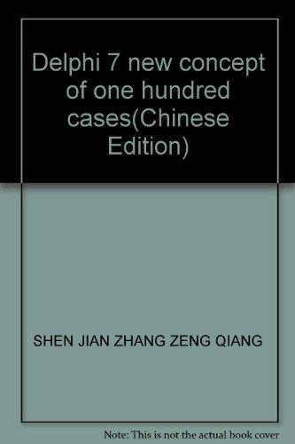 Delphi 7 new concept of one hundred: SHEN JIAN ZHANG