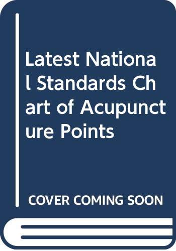 9787509140994: Latest National Standards Chart of Acupuncture Points (English and Chinese Edition)