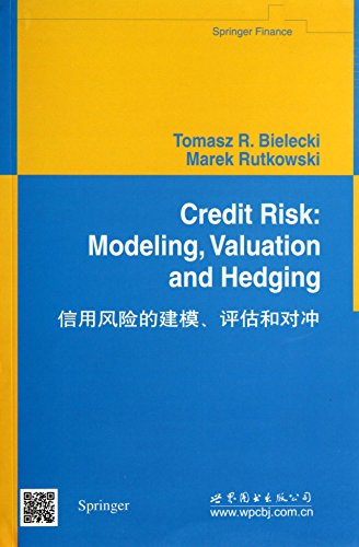 9787510058080: Credit Risk: Modeling. Valuation and Hedging (Springer Finance)(Chinese Edition)