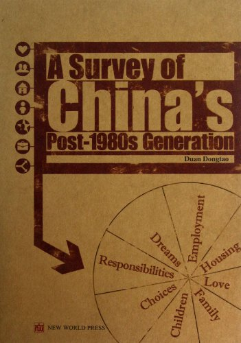9787510429576: The Survey of Chinese People Born in the 1980s