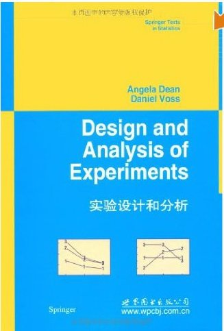 9787521305616: Design and Analysis of Experiments (Springer Texts in Statistics)