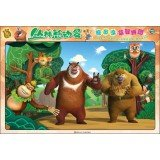 9787536564558: Bear spotted 3D Puzzle Jigsaw: Jungle Story(Chinese Edition)