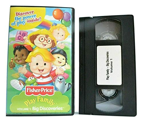 9787538072792: Fisher-Price Little People volume 1 Big Discoveries [VHS]
