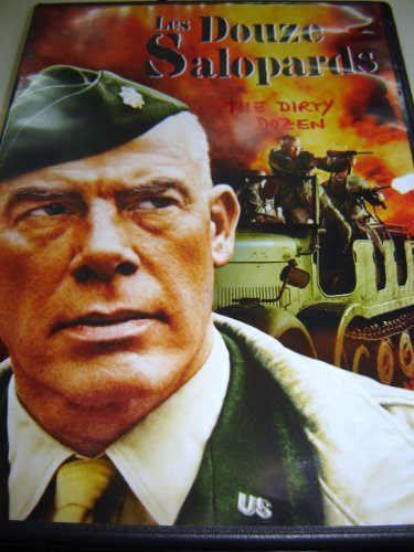 9787540654795: Les Douze salopards (1967) / The Dirty Dozen / REGION 2 PAL DVD / Audio: English, French, Italian / Subtitles: English, French, Italian, German, Spanish, Arabic, Bulgarian, Romanian, Dutch / Actors : Lee Marvin, Ernest Borgnine, Charles Bronson, Jim Brown, John Cassavetes / Director : Robert Aldrich / 143 min