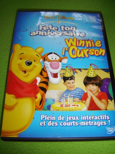 9787542910516: It's Your Birthday Party With Winnie The Pooh/Fete ton anniversaire avec Winnie l'ourson