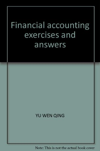 9787542914743: Financial accounting exercises and answers