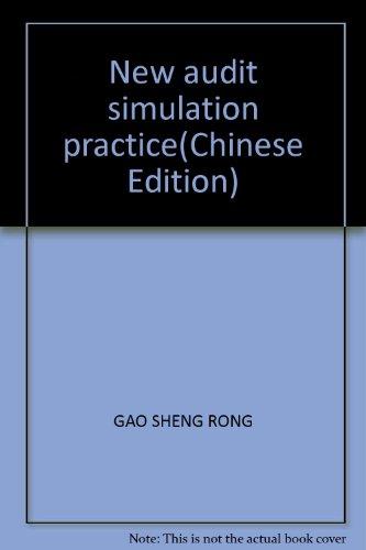9787542918079: New audit simulation practice