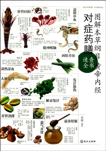 9787543053915: Illustrated Collection of Herbal Cuisines from Compendium of Materia Medica and the internal Canon of Medicine of Yellow Emperor for Speed Look-Up (Chinese Edition)