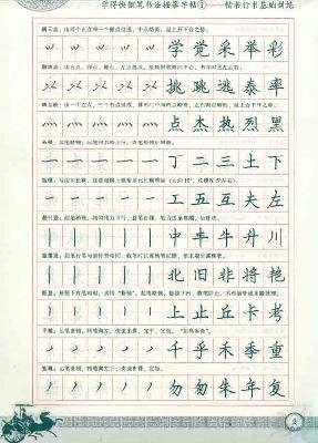 Quick Study Pen Calligraphy Tracing Copybook (Chinese Edition): Ming, Li Fang