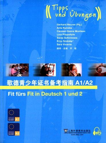 9787544627870: Goethe's teenager's certificate for reference guidebook A 1| A2s(attach mp3 downloads) (Chinese edidion) Pinyin: ge de qing shao nian zheng shu bei kao zhi nan A1/A2 ( fu mp3 xia zai )