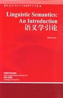 Semantics Introduction Contemporary Foreign Linguistics and Applied: YING) LAI ANG